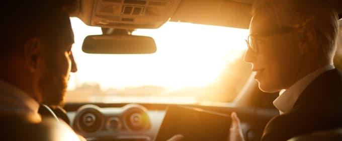 Chauffeur business taxi partenariat entreprise